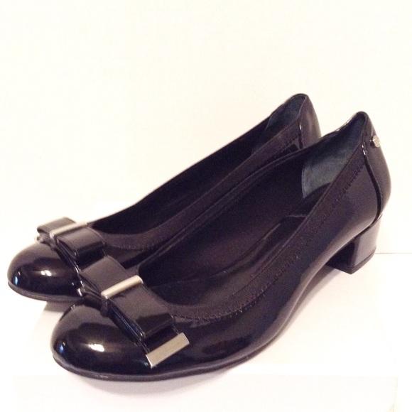 e90586d92403d1 Dana Buchman Shoes - Dana Buchman Patent Leather Block Heel - 7.5